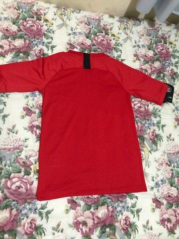 Camisa PSG (VERMELHA) - Foto 3