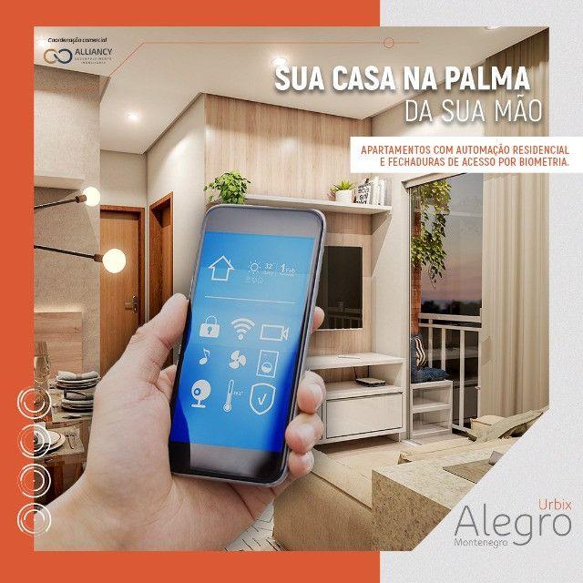 Novo Alegro Montenegro - Apartamento inteligente na Augusto Montenegro