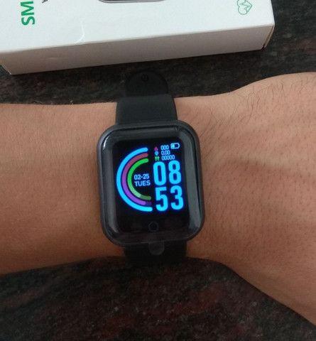 Smart Watch D20 À Prova D 'Água Com Medidor De Frequência Cardíaca Para Ios Android - Foto 2