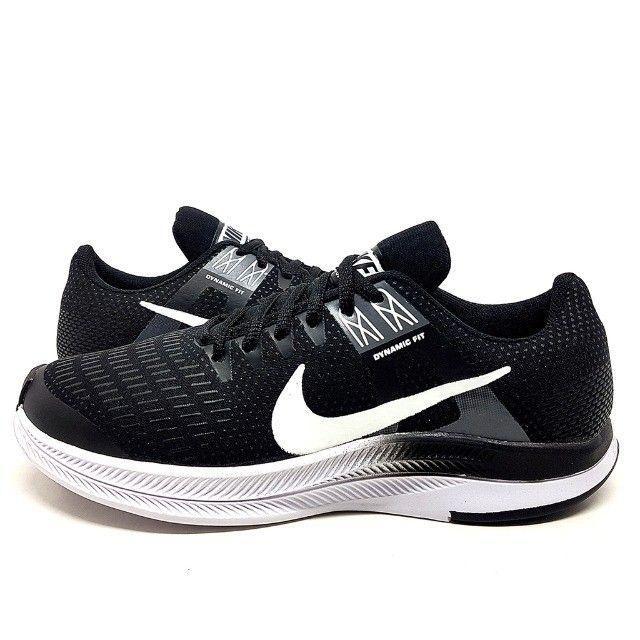 Kit 2 Tênis 1 Nike Air Force Gucci + 1 Nike Dynamic Preto e Branco - Foto 6
