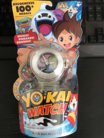 Yo-kai yokai Watch original Hasbro series 1 com 02 medalhas
