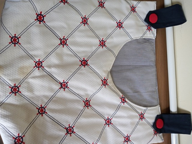 Trocador, porta fraldas, almofada e varão - Foto 5