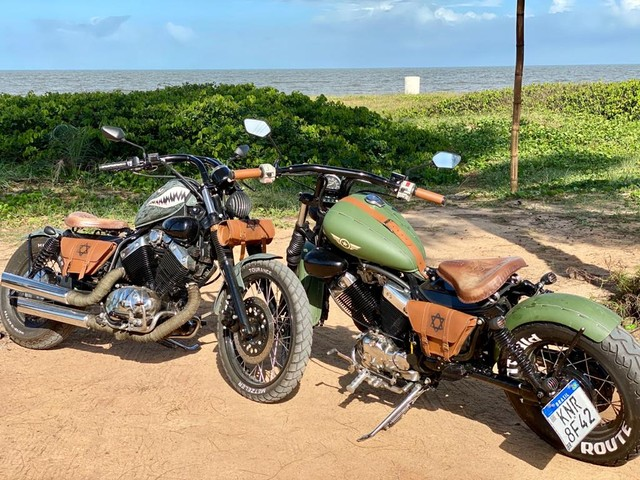 MOTO YAMAHA VIRAGO -535-customizada - Foto 3