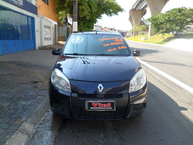Renault Sandero 1.0 16v Authentique Hi-flex 2012/2013 - Foto 2