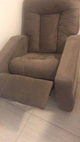 Poltrona Matrix Nala reclinável  - Foto 3
