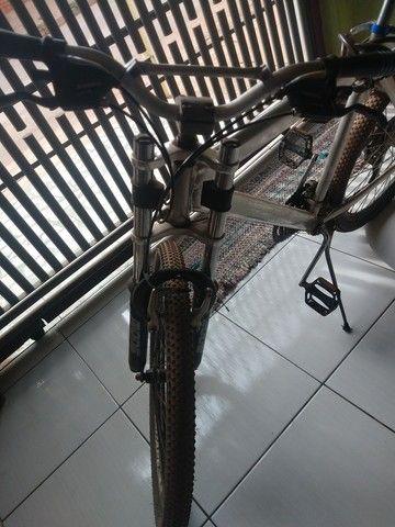 Bike usada, muito boa compensada  - Foto 2