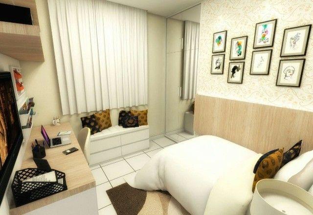 GÊ Apartamento, bairro Jangurussu, 2 dormitórios, 2 banheiros, 1 vaga. - Foto 4
