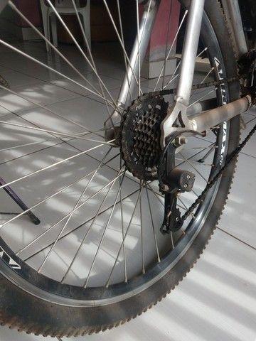 Bike usada, muito boa compensada  - Foto 3