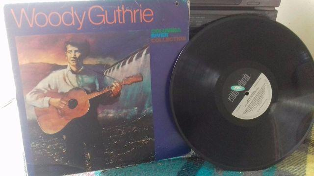 Lp Woody Guthrie - Columbia River Collection (1987)