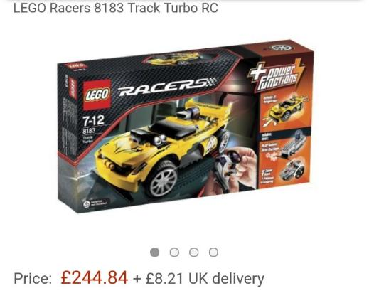Lego Racers Track Turbo 8183