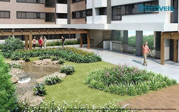 Apartamento com 2 dormitórios à venda, 56 m² por r$ 345.900,00 - santo inácio - curitiba/p - Foto 5