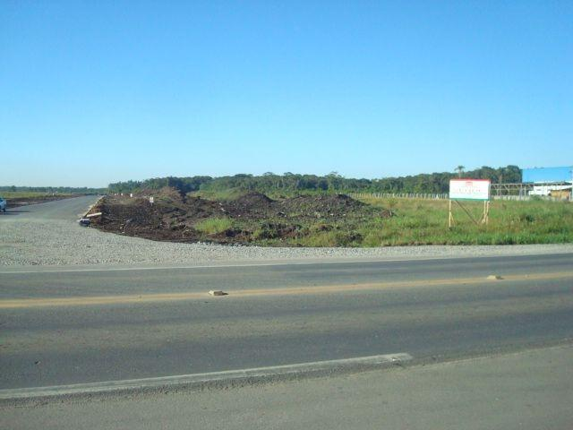 Área industrial de frente para a BR280 com 15000m² - Foto 6