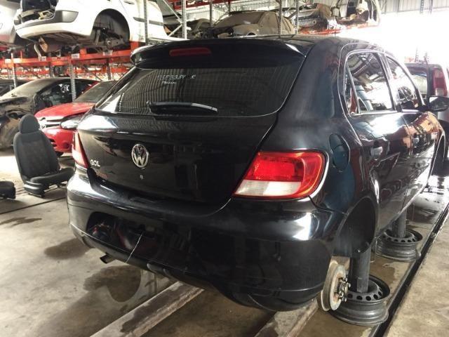 Peças usadas Volkswagen Gol G5 2009 1.0 8 v flex 76cv câmbio manual