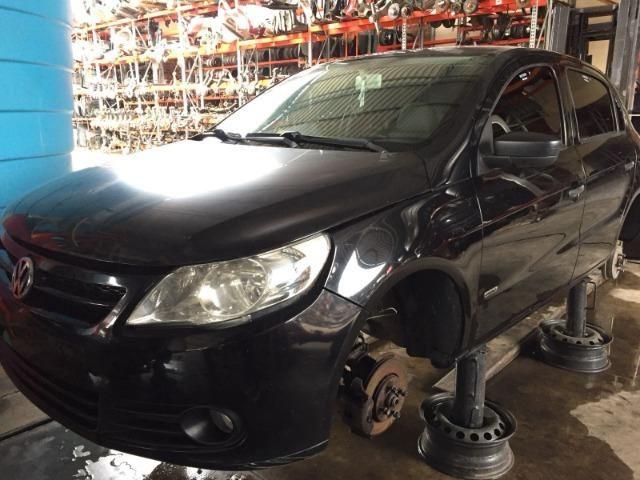 Peças usadas Volkswagen Gol G5 2009 1.0 8 v flex 76cv câmbio manual - Foto 3