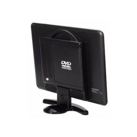 Tv Monitor 15,4 Pol KP-116 Knup Lcd Hd 1080p Dvd Player Hdmi Vga Usb - Foto 6