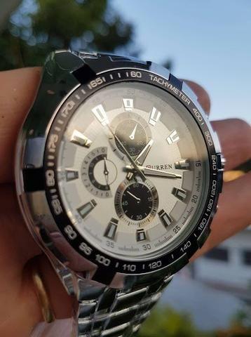 e92ed11f5f4 Relógio Curren Resistente a água ( novo )