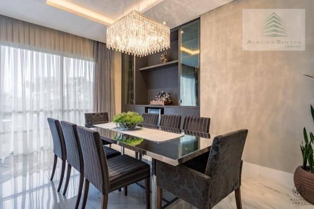 Apartamento à venda, 185 m² por r$ 1.549.000,00 - campo comprido - curitiba/pr - Foto 5