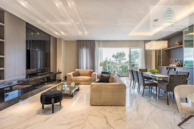 Apartamento à venda, 185 m² por r$ 1.549.000,00 - campo comprido - curitiba/pr