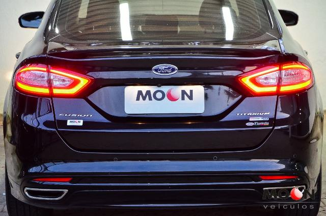 Ford Fusion 2.0 GTDi Titanium Teto solar revisado estado excelente!! - Foto 12
