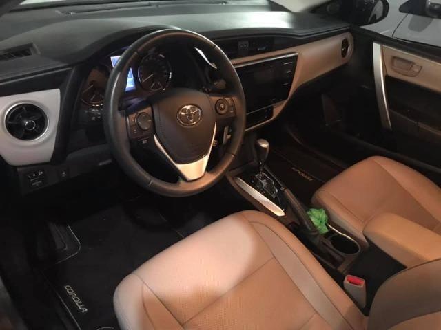 Toyota Corolla 27.000KM! XEi Automático - Modelo Novo - 2018 Só comigo via * - Foto 3