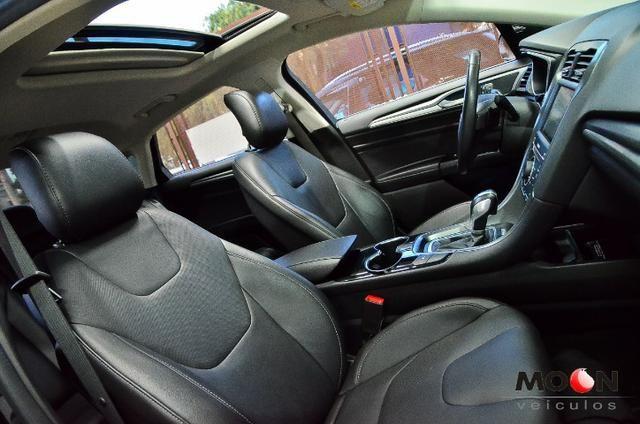 Ford Fusion 2.0 GTDi Titanium Teto solar revisado estado excelente!! - Foto 16