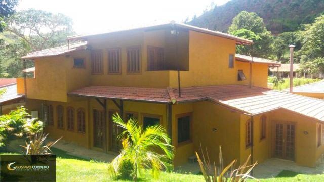Casa residencial à venda, carangola, petrópolis - ca0002. - Foto 2