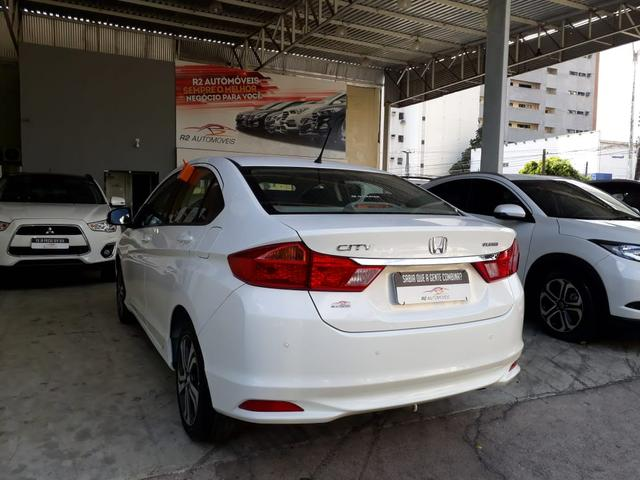 Honda 2015 City 1.5 lx cvt Automatico completo branco confira - Foto 6