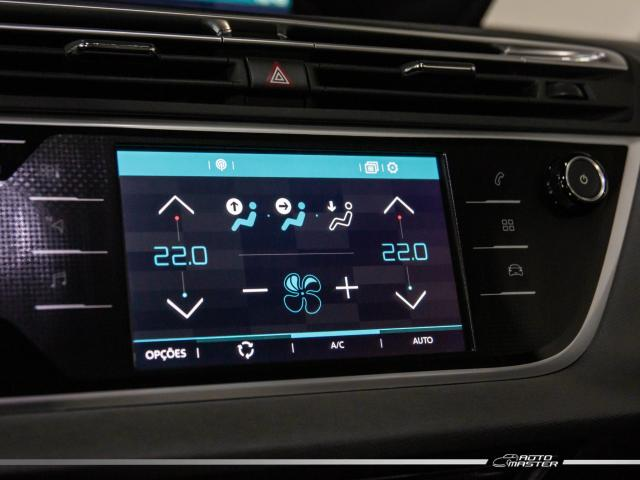 Citroën C4 Picasso Intensive 1.6 Turbo 16V Aut. - Cinza - 2018 - Foto 9