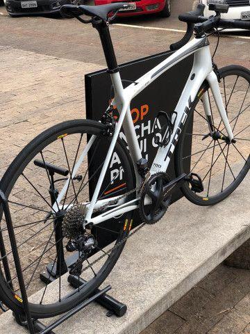 Bicicleta speed Trek Émonda SLR - tamanho 54 - Semi-nova - Foto 5