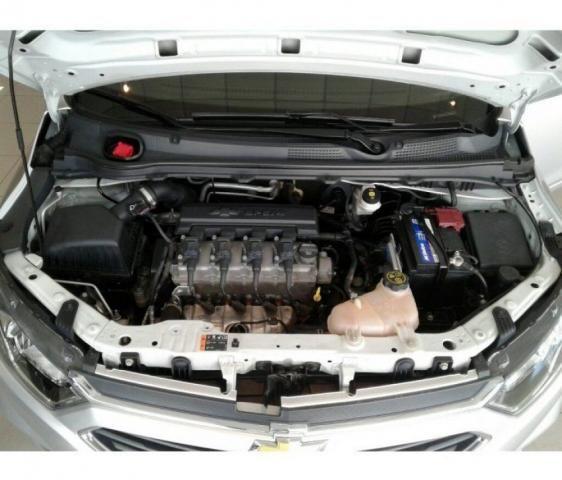 CHEVROLET ONIX LTZ 1.4 8V MT6 ECO FLEX Prata 2017/2018 - Foto 12