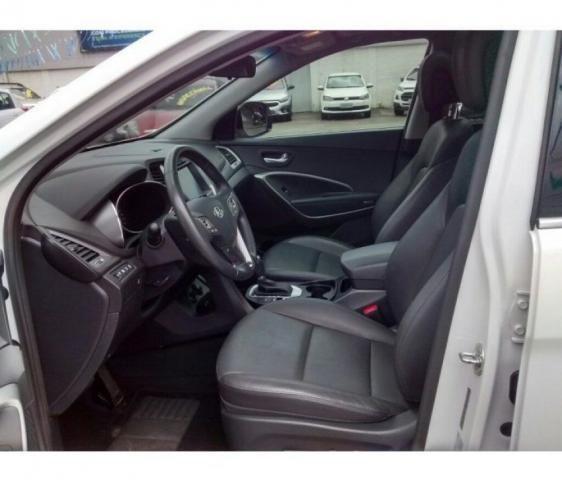 HYUNDAI IMP SANTA FE GLS 7LUG 4WD 3.3 V6 AT Branco 2017/2018 - Foto 5