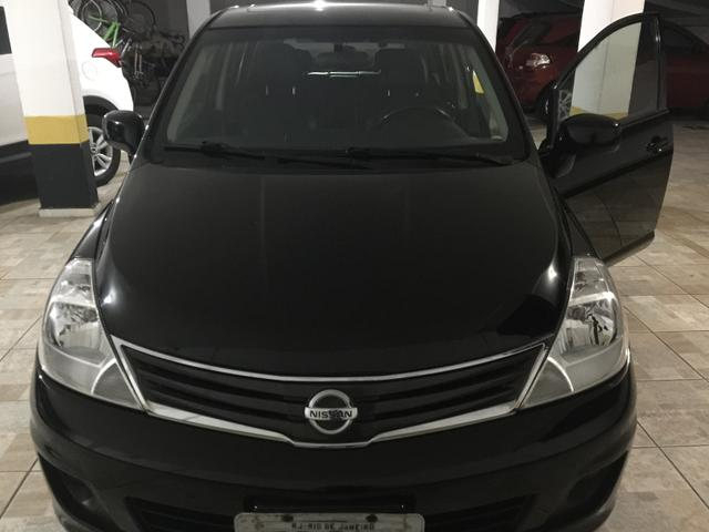 Nissan Tiida 1.8SL FLEX - IPVA 2020 pago!!! bancos de couro, teto solar - Foto 4