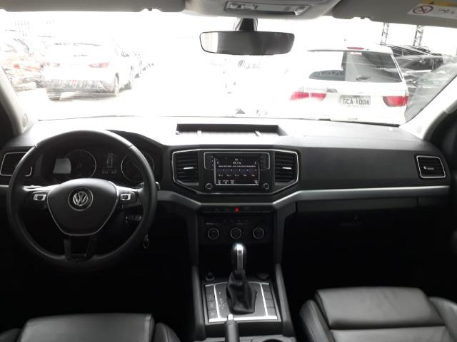 VW/Amarok 2.0 Highline 4x4 CD 16v TB 2017/2018 Cinza - Foto 7