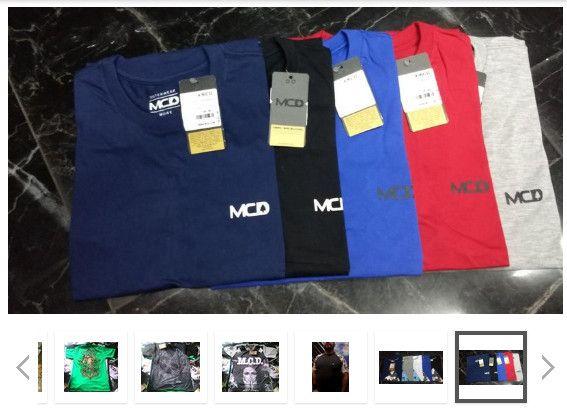 Camiseta MCD Atacado- Kit 10 peças - camisetas no atacado para revenda roupas De Marca - Foto 5