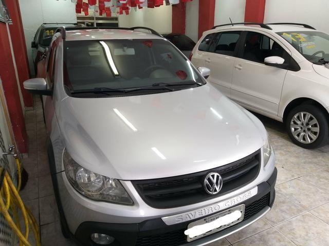 Vw Saveiro Cross Gnv troco carro ou moto maior ou menor valor e financi - Foto 10