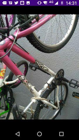Vanda ou troca bicicleta aro 26 Caloi - Foto 3