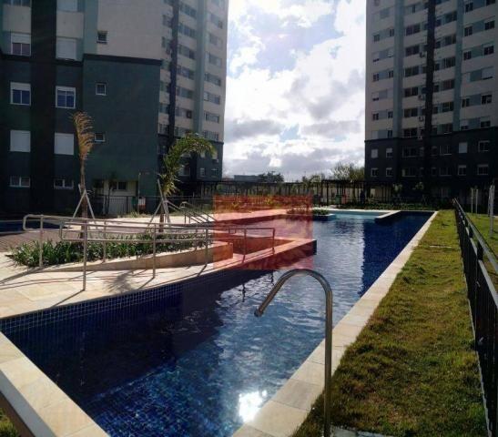 Apartamento com 3 dormitórios à venda, 61 m² por R$ 350.000,00 - Areal - Pelotas/RS - Foto 17