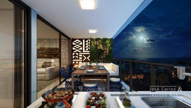 Repasse 130m² Eco Oceania! Apartamento com 3 suítes - Vista mar - Varanda gourmet - Jardim - Foto 14