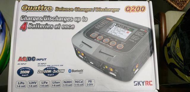 Carregador Bateria Lipo Q200 SkyRC NOVINHO