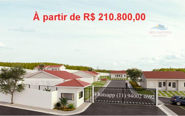 Alta Vista Campo Limpo Pta, casas em condominio , entrada parcelada , pode usar FGTS - Foto 4