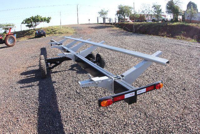 Carreto Transportador Plataforma Colheitadeira - Foto 4