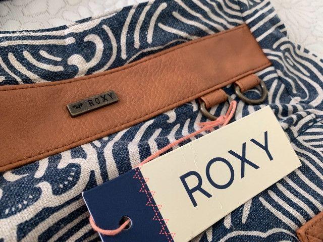 Conjunto Bolsa + Carteira Roxy (original) Estampado - Foto 4
