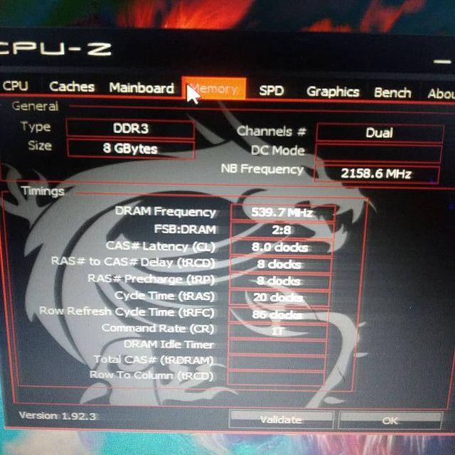 PC Gamer Completo i7 8Gb R7 4Gb SSD 120Gb Teclado Mecânico RGB - Foto 6