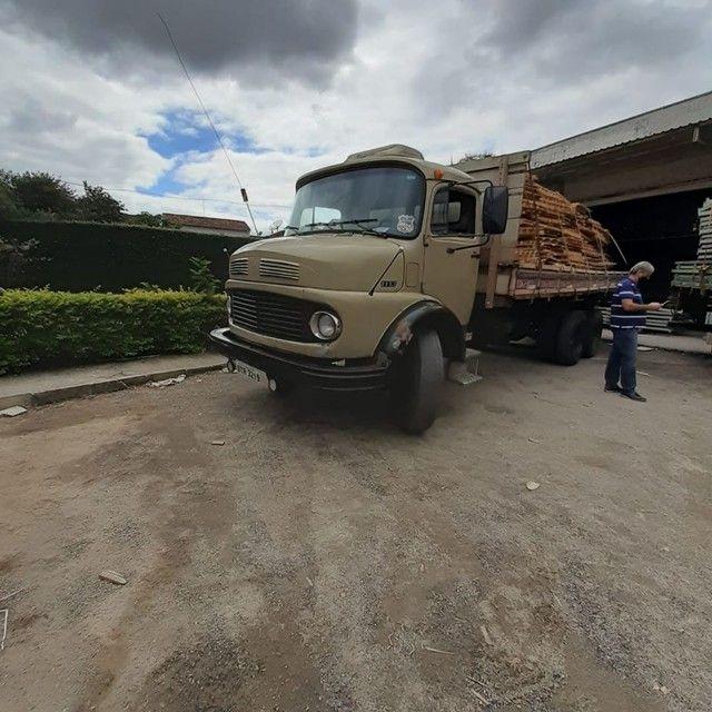 Vendo ou troco Mercedes 1113 truck