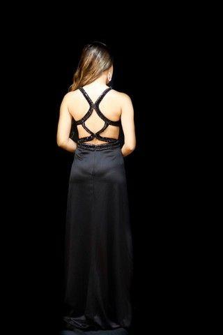 Vestido Dress Crepe acetinado - Foto 3