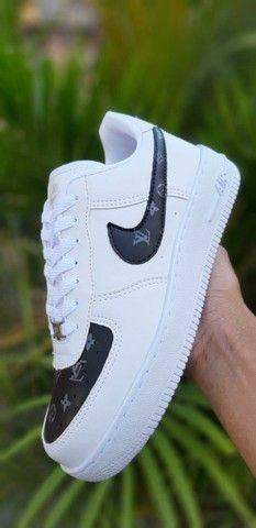 Tenis (Leia a Descrição) Nike Air Fig Várias Cores Novo - Foto 5