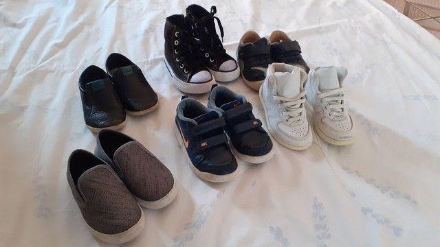 Lote calçados menino