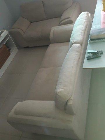 Jogo de sofá suede 2 e 3 lugares - Foto 2
