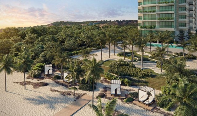 Apartamento para venda Beira Mar com 4 suítes em Jacarecica - Maceió - AL - Foto 10