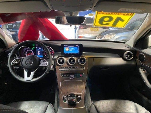Mercedes Benz C 180 2019 1.6 Gasolina Único Dono Branca Estudo Troca e Financio - Foto 7